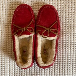 Ugg Slippers - Red - Size 9
